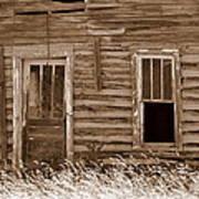 Homestead Past Art Print