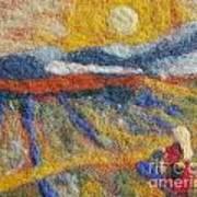 Hommage To Van Gogh Print by Nicole Besack