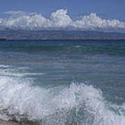 Honokohau Aloalo Aheahe D T Fleming Beach Maui Hawaii Art Print