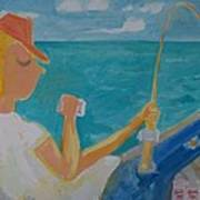 Hooked Art Print by Jay Manne-Crusoe