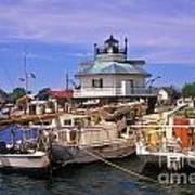 Hooper Strait Lighthouse - Fs000115 Art Print