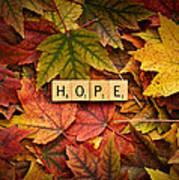 Hope-autumn Art Print