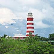 Hopetown Lighthouse Art Print