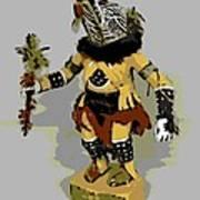 Hopi Dancer Art Print