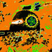 Hopi Kachina Work Number 4 Art Print