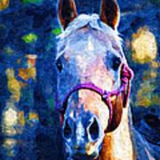 Horse Beautiful Art Print