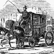 Horse Carriage, 1853 Art Print