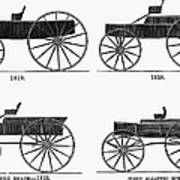 Horse Carriages, 1810-1860 Art Print