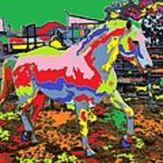 horse Portrait 8 Art Print
