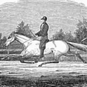 Horse Racing, 1851 Art Print
