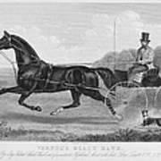 Horse Racing, C1850 Art Print