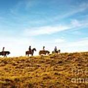 Horseback Riding Art Print