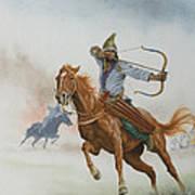 Horsemen From The Steppes Art Print