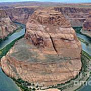 Horseshoe Bend Near Page - Arizona Art Print