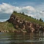 Horsetooth Reservoir View Toward Inlet Bay Art Print