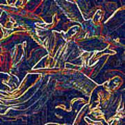Host Of Angels By Jrr Art Print