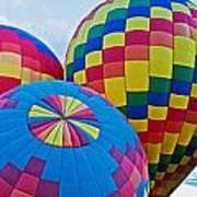 Hot Air Balloons Panorama Art Print