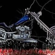 Hot Chopper Art Print