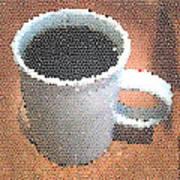 Hot Coffee 03 Art Print