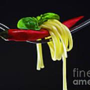 Hot Pasta  Art Print