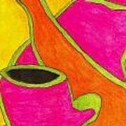Hot Tea... Cold Juice Art Print