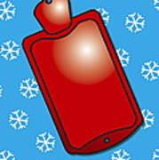 Hot Water Bottle Art Print