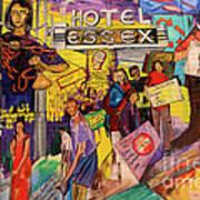Hotel Essex  Art Print