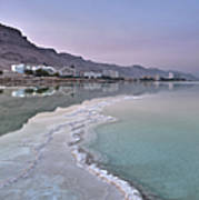 Hotel On The Shore Of The Dead Sea Art Print