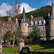 Hotel Tigh Mor Trossachs. Perthshire. Scotland Art Print