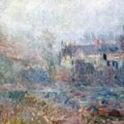 House At Falaise Art Print by Claude Monet