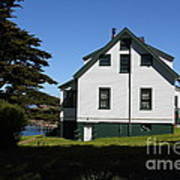 House At Point Reyes Calfornia . 7d16125 Art Print