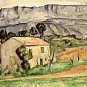 House In Provence Art Print