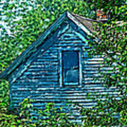 House In The Woods Art Art Print