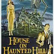 House On Haunted Hill, Alternate Poster Art Print
