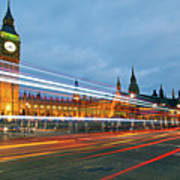 Houses Of Parliament Art Print by Ray Wise