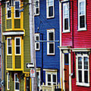 Houses St Johns Art Print
