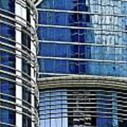 Houston Architecture 1 Art Print
