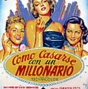How To Marry A Millionaire, Betty Art Print