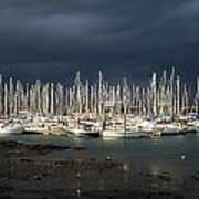 Howth Yacht Club Marina, Co Dublin Art Print
