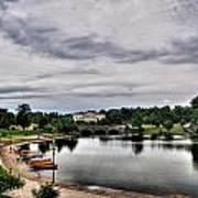 Hoyt Lake Delaware Park 0001 Art Print