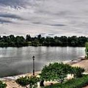 Hoyt Lake Delaware Park 0002 Art Print