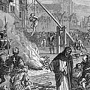 Huguenots: Persecution Art Print