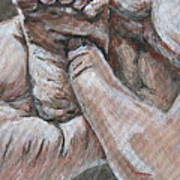 Human Touch Art Print