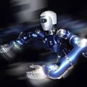 Humanoid Robot, Artwork Art Print