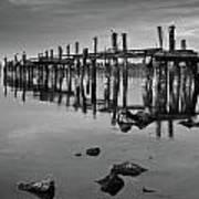 Humboldt Bay Ruins Art Print