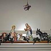 Hummel Nativity Set Art Print