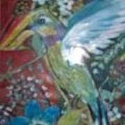 Hummingbird Fantasy Art Print