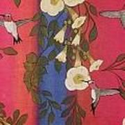 Hummingbird Picnic Art Print