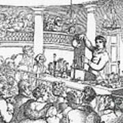 Humphrey Davy Lecturing, 1809 Art Print by Science Source