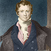 Humphry Davy, English Chemist Art Print